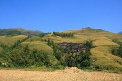 Terrazas de Longji Imagenes de archivo