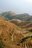 Terrazas del arroz de Longsheng, China Imagen de archivo