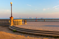 Terrazza Mascagni In Livorno, Italy Editorial Stock Photo - Image ...