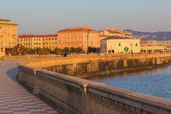 Terrazza Mascagni in Livorno, Italy Stock Photos