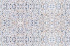 Terrazzo che pavimenta i modelli senza cuciture di progettazione, vecchia struttura di marmo o il fondo di pietra lucidato di art Fotografie Stock Libere da Diritti