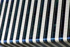 terrazzo dei palazzi del distretto di ufficio della Tailandia Bangkok Fotografia Stock Libera da Diritti
