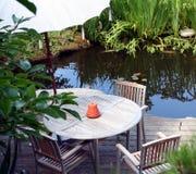 Terrazzo del giardino Fotografia Stock