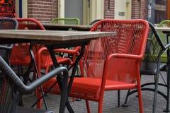 Terrazzo del ristorante immagini stock libere da diritti