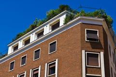 Terrazzo del tetto Immagini Stock