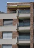 Terrazzo della facciata fotografia stock libera da diritti