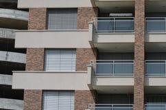 Terrazzo della facciata immagine stock libera da diritti