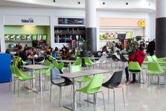 Terrazzo dentro il centro commerciale Fotografie Stock