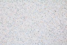 Terrazzo, der alte Beschaffenheit oder Poliersteinhintergrund ausbreitet Stockbild
