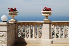 Terrazzo di Bahai Fotografia Stock