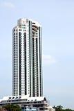 terrazzo di Bangkok nei palazzi del distretto di ufficio   grattacielo Immagini Stock Libere da Diritti