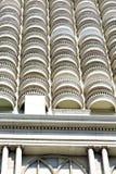 Terrazzo di Bangkok in ufficio l'allineamento dei fabbricati moderno skysc Fotografia Stock Libera da Diritti