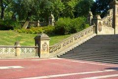 Terrazzo di Bethesda, Central Park, NY Fotografia Stock