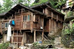Terrazzo di Longji, il Guangxi, porcellana Fotografie Stock