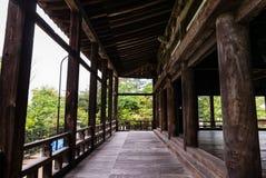 Terrazzo di Senjokaku & di x28; Toyokuni Shrine& x29; sull'isola di Miyajima fotografia stock