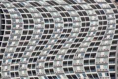 Terrazzo e finestre delle costruzioni immagini stock libere da diritti