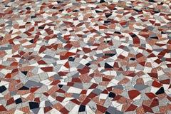 Terrazzo floor Stock Image