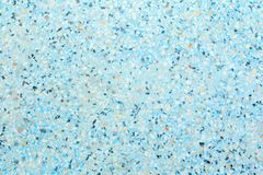 Terrazzo floor blue texture old, polished stone pattern wall and color surface marble for background image horizontal royalty free stock photography
