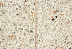 Terrazzo floor old texture or polished stone for background stock photo