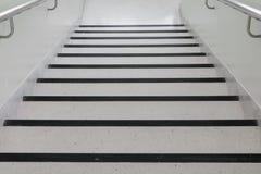 Terrazzo floor stairs walkway down Stock Images