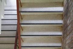 Terrazzo floor stairs walkway top view Royalty Free Stock Photos