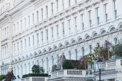 Terrazzo georgiano a Londra Fotografia Stock Libera da Diritti
