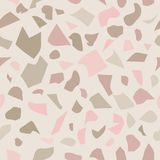 Terrazzo mosaic pattern vector illustration