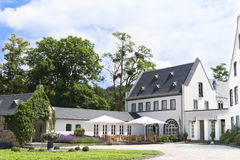 Terrazzo piacevole in un monastero, Germania Fotografia Stock Libera da Diritti