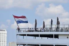 Terrazzo sugli ss Rotterdam, Rotterdam, Paesi Bassi Immagini Stock Libere da Diritti