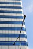 terrazzo Tailandia di Bangkok in lampada di via Fotografia Stock Libera da Diritti