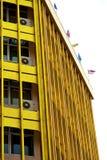 Terrazzo Tailandia di Bangkok nei palazzi del distretto di ufficio delle bandiere Fotografie Stock