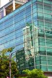 terrazzo Tailandia di Bangkok nel segnale della via dell'ufficio Fotografia Stock