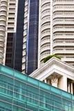 terrazzo Tailandia di Bangkok nell'estratto t del distretto di ufficio Fotografie Stock