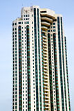 Terrazzo Tailandia di Bangkok nello skysc moderno della costruzione Fotografia Stock Libera da Diritti