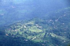 Terrazzo in valle di Phokara Immagine Stock