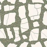 Terrazzobevloering Naadloos patroon Grijze textuur als achtergrond Abstract vectorontwerp voor druk op vloer, muur, tegel of text royalty-vrije illustratie