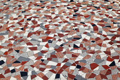 Terrazzofußboden Stockbild