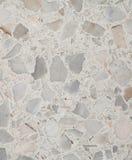Terrazzogolvtextur, den polerade stenmodellväggen och färgyttersida marmorerar för bakgrund Royaltyfria Bilder