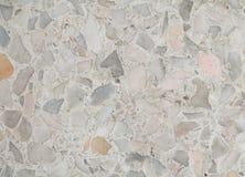 Terrazzogolvtextur, den polerade stenmodellväggen och färgyttersida marmorerar för bakgrund Arkivfoton
