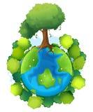 Terre illustration stock