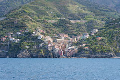 Terre de Cinque en Italie Photos libres de droits
