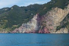 Terre de Cinque en Italie Photo stock