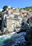 Terre de Cinque, Ligurie Italie Image libre de droits