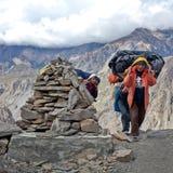 Terre de Dolpo, Népal Photographie stock libre de droits