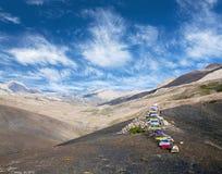 Terre de Dolpo, parc national de Shey Phoksumdo, Népal Image libre de droits