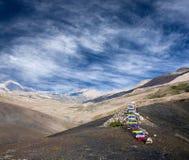Terre de Dolpo, parc national de Shey Phoksumdo, Népal Photographie stock