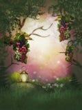 Terre de fruit d'imagination Image stock
