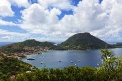 Terre-de-Haut остров, архипелаг Гваделупы стоковые фото