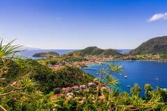 Terre-De-Haut Insel, Les Saintes stockbild