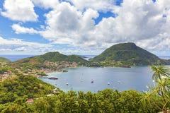 Terre-de-Haut, Les Saintes islands, Guadeloupe. Terre-de-Haut Island, Les Saintes, Guadeloupe archipelago royalty free stock images